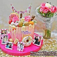 drip cake 🌹