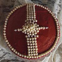 An Icing Color Adventure and/or Who went Nuts with the Edible Pearls? by Rene'