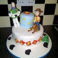 Two Tier Toy Story Cake by CakesbyMEforYou
