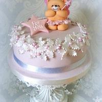Sugar Plum Fairy Christmas Cake