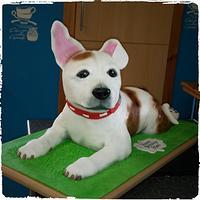 3D Staffordshire Bull Terrier
