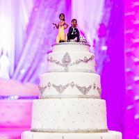 Novelty wedding cake
