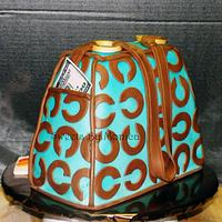 Coach Purse Birthday by Sweets By Monica