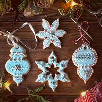 Xmas royal icing cookies