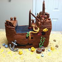 Sunken Ship Cake by Tetyana