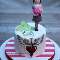 Preppy Bon Jovi Cake
