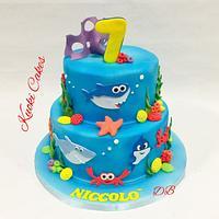 Marine cake Birthday