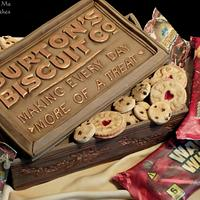 Burton's Biscuits Co. Cake