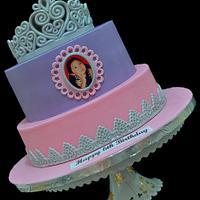 My Princess Sophia's Cake