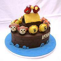 Noah's Ark Cake Pop Cake
