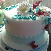 ASTON VILLA FOOTBALL CAKE by Disneyworld25
