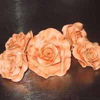 roses sugarpaste by wigur
