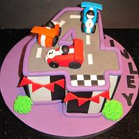 racing  4 u  by d and k creative cakes