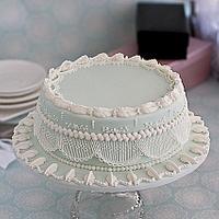 Royal Icing String work cake