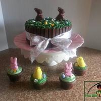 Easter Garden by Denise