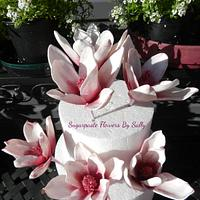 Life size sugar Magnolia