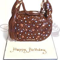 Jimmy Choo Zodiac Handbag Cake