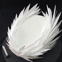 Feathered cake