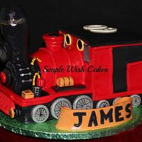 Steam Train by Stef and Carla (Simple Wish Cakes)