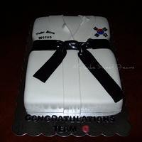 Tae Kwon Do Cake