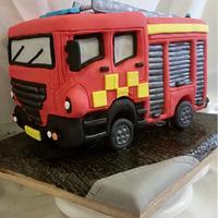 light up fire engine