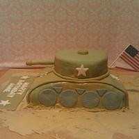 Army Tank Cake  by michelle