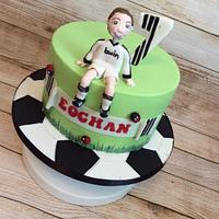 Eoghan's Football Cake
