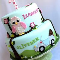 Cake for girl and boy