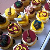 harry potter cupcakes!