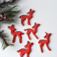 Red Reindeer Cookies