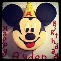 Mickey Mouse 2nd Birthday