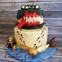 Hogwarts Cake Challenge Book of Monsters