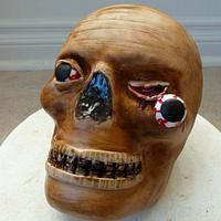 Creepy Head Cake
