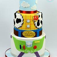 Disney / Pixar Inspired Toy Story Birthday Cake
