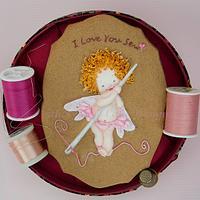 I Love You Sew Cookies 🧚💝✂
