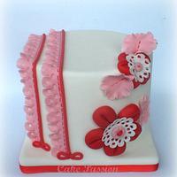 Shabby Lace Cake