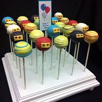 Ninjago Cake Pops by Beau Petit Cupcakes (Candace Chand)