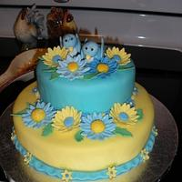 1st Fondant Cake