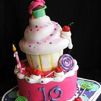 Whimsical Birthday Cake