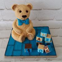 Bear cake!!!!!