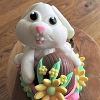 Fondant Cake Topper Sweet Easter Collaboration - Eastern Bunny