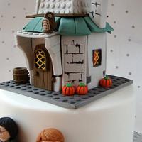 Lego Harry Potter Cake (Hagrid's Hut)