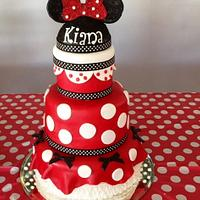 Minnie Mouse is celebrating a birthday