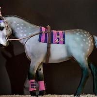 Cake Carnival Circus Horse by Happyhills Cakes