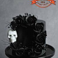 Gothic Skull Wreath