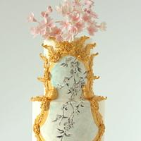 Cherry Blossom Cake by Cookie Hound!