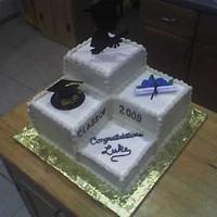 Lukes Graduation Cake