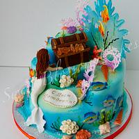 Under the sea cake by Tatyana