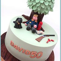 Shooting Cake by Scrumptious Buns
