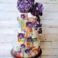 Caker Buddies Collaboration: The Violet Butterfly